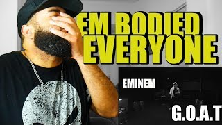 {{ REACTION }} Eminem - Kick Off (Freestyle) HE BODIED  EVERYONE