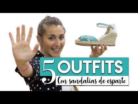 5 OUTFITS para combinar con tus sandalias de esparto ♡ ♡ ♡| Alpargata mujer by miMaO