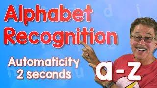 Alphabet Automaticity | Lower Case | 2 Seconds | Jack Hartmann