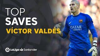 TOP 25 SAVES Víctor Valdés en LaLiga Santander