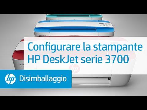 Configurare la stampante HP DeskJet serie 3700