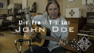 "LIVE FROM THE LAB - John Doe - ""The Golden State"""