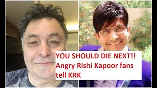 KRK's disgusting remark on Rishi Kapoor's death leaves fans angry | Video | Bollywood | News Square