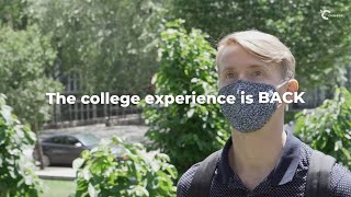 youtube video thumbnail - The College Experience is Back | Start Your Journey Today with Crimson!