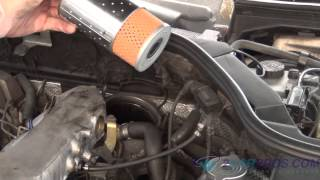 Engine Oil Change and Filter Mercedes Benz
