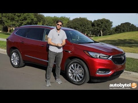 2018 Buick Enclave Premium AWD Test Drive Video