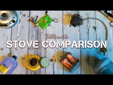 ULTIMATE Stove Comparison / Camping Hiking Outdoors