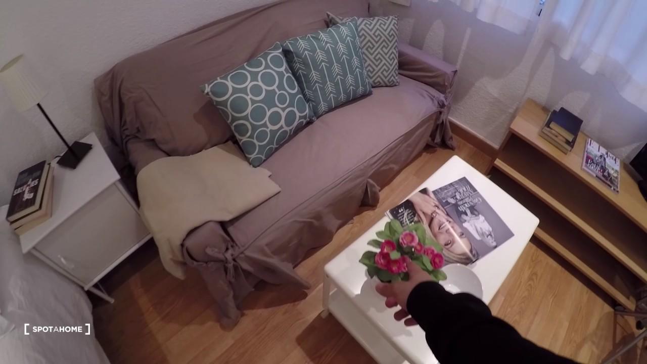 Studio apartment with AC for rent in Salamanca