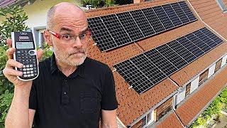 Lohnt sich unsere Solaranlage? (2-Jahres-Bilanz)   dieserdad