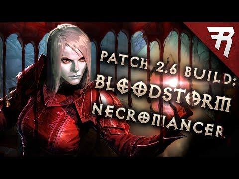 Diablo 3 2.6 Necromancer Build: BLOODstorm Trag'Oul GR 115+ (Guide, Season 11)