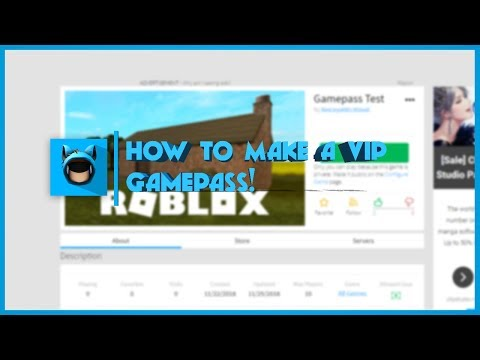 Roblox | How to make a Gamepass Gear Script | 2019 [FE