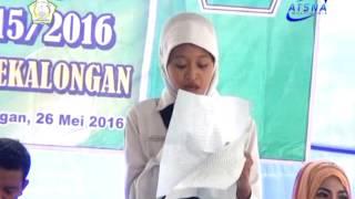 Puisi Doa Sehelai Daun Kering : Karya Emha Ainun Nadjib : Pembaca : Ainul Fatihah