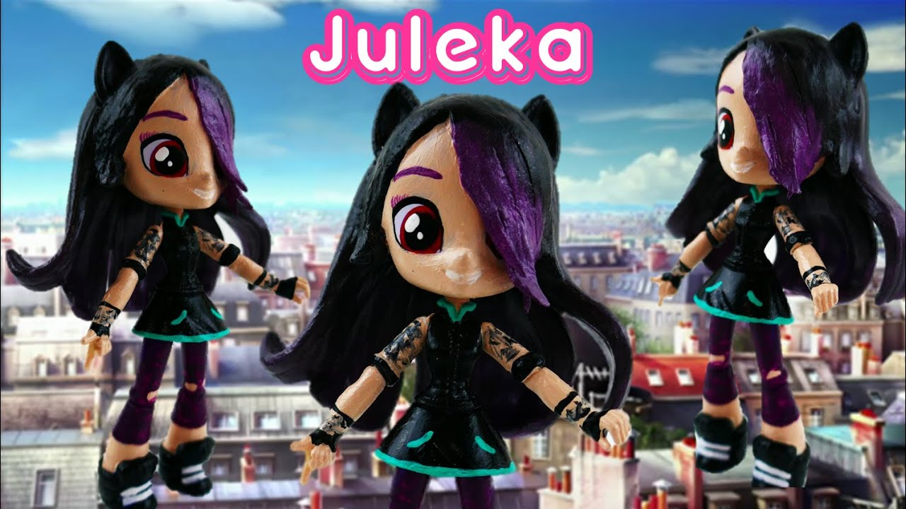 JULEKA Reflekta Doll - How to make Miraculous Ladybug Toys from MLP Equestria Girls