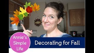 Decorate with Me VLOG!  |  Fall 2017