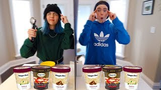 TWIN TELEPATHY ICE CREAM SUNDAE CHALLENGE!!