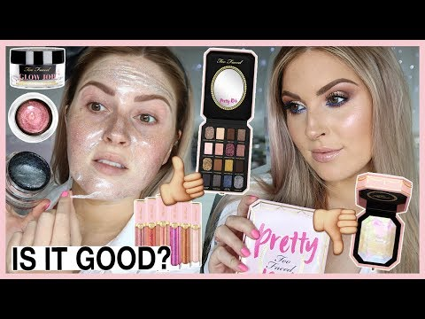 FULL FACE OF TOO FACED! 🤔 Pretty Rich Collection First Impressions
