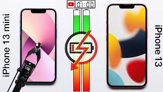 Apple iPhone 13 mini vs Apple iPhone 13 Battery Test