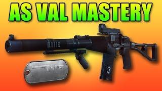 BF4 AS VAL Mastery Dog Tag | 500 Kills Battlefield 4 PDW