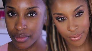 Apply Eyeshadow On Dark Eyelids | Jackie Aina