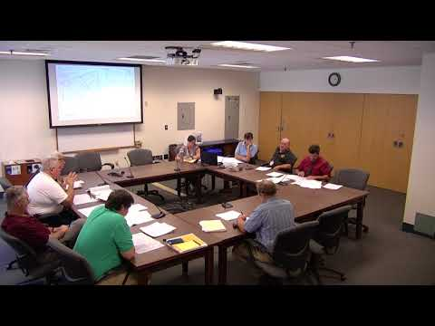 Technical Advisory Committee Work Session 8.14.2018