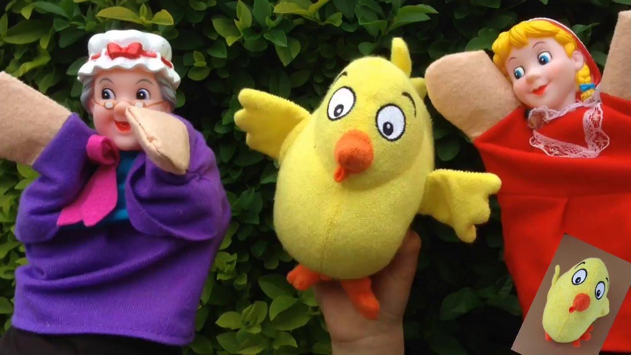 El Pollo Pepe VAMOS A CONTAR MENTIRAS con la abuelita y Caperucita