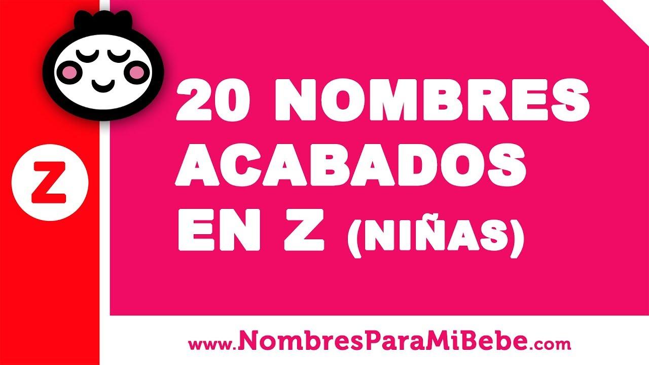 20 nombres para niñas terminados en Z - los mejores nombres de bebé - www.nombresparamibebe.com