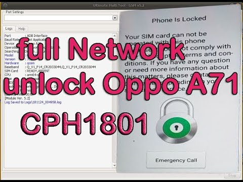 Oppo A37Fw Network Unlocking Done