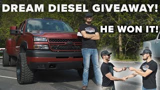 GIVING A DIESEL DUALLY DURAMAX TO A RANDOM SUBSCRIBER!