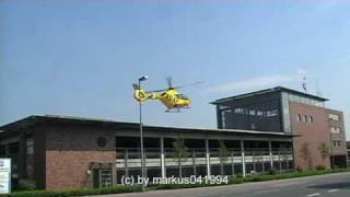 preview picture of video 'Landung Christoph Europa 2 - EC135 - Rheine'