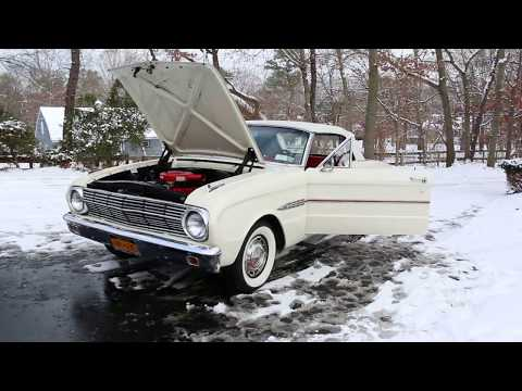 Gorgeous 1963 Ford Falcon Futura Convertible For Sale~1 Family Owned~Fully Documented!! Mp3