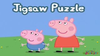 Peppa Pig Jigsaw Puzzle | Peppa Pig Gameplay Episode | Peppa Pig