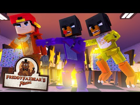 Фото Minecraft Versus - FNAF BONNIE, CHICA AND FOXY FIGHT FOR SURVIVAL- modded mini gamne