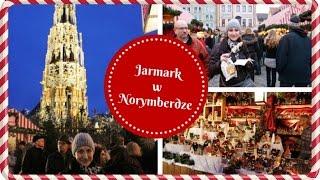 Norymberga Jarmark Bożonarodzeniowy VLOGMAS