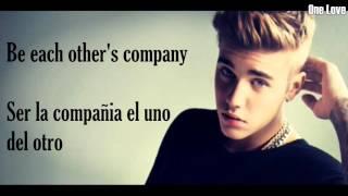 Justin Bieber - Company (Ingles-Español)