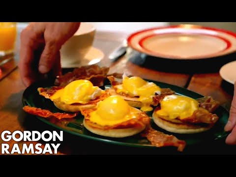 Download Eggs Benedict With Crispy Parma Ham | Gordon Ramsay Mp4 HD Video and MP3
