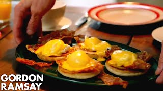 Eggs Benedict With Crispy Parma Ham | Gordon Ramsay