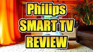 Philips Ambilight 55PUS6704/12 LED Smart TV REVIEW - Elektronik, Anschlüsse & Bildqualität