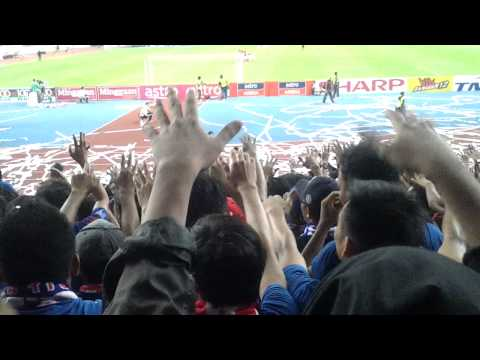 Final FA cup 2013  student pisdec support B.O.S