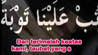 Zikir Doa Taubatan Nasuha