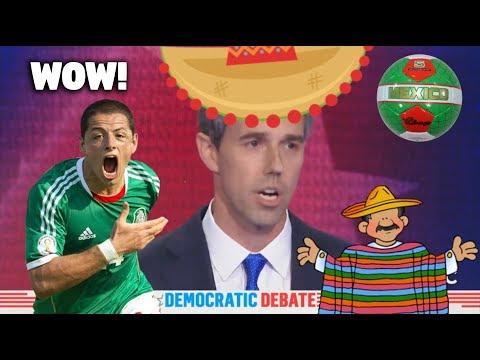 WOW! Beto O'Rourke & Cory Booker Speak Spanish At The Democratic Party Debates!