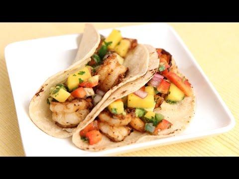 Grilled Jerk Shrimp Tacos Recipe – Laura Vitale – Laura in the Kitchen Episode 798