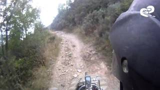preview picture of video 'BMW R 1200 GS Adventure doing some serious OffRoad'