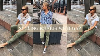 STYLING KHAKIS WITH GAP | AD