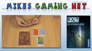 Exit - Das Spiel : Die verlassene Hütte | Verlag: Kosmos