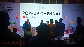 YouTube 1st Pop-up Space Event in Chennai | YouTube Creators Workshop | Tech Bytes