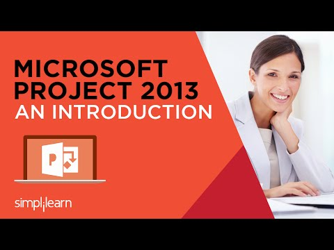 Introduction to MS Project 2013 Certification Training   MS Project ...