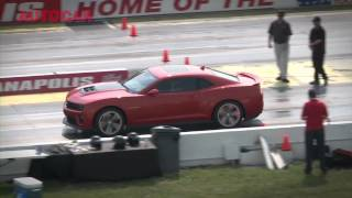 [Autocar] 2012 Chevrolet Camaro ZL1 review - including burnout and drag launch