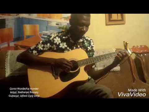 Wonderful wonder By Nathaniel Bassey Guitar Interpretation.