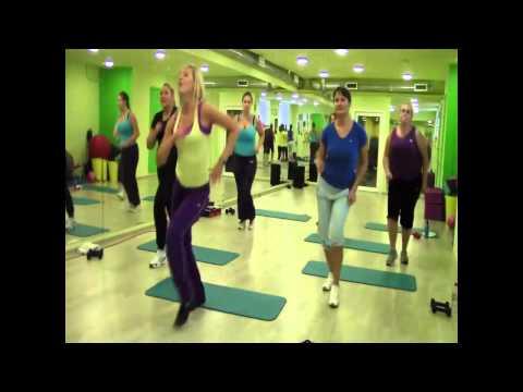 Тренировка по фитнесу. Онлайн-марафон «Похудей за 12 недель»