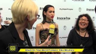 Kiko Mizuhara @ The Attack On Titan: Part 1 Premeire